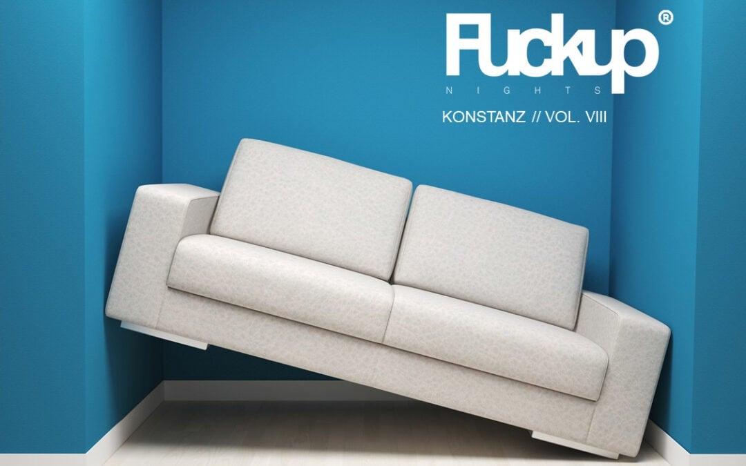 Fuckup Night Konstanz // Vol. VIII